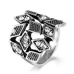 levne -Dámské Prsteny s kamenem imitace drahokamu Formal Evropský Módní Slitina Šperky Denní Street
