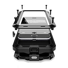 Назначение iPhone X iPhone 8 Plus Чехлы панели Вода / Грязь / Надежная защита от повреждений Чехол Кейс для броня Твердый Металл для Apple