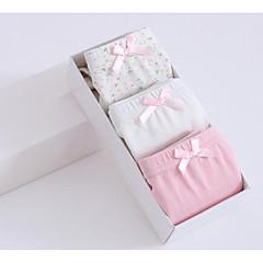 billige Undertøj og sokker til piger-3 Dele Pige Prikker Bomuld Undertøj og strømper Hvid