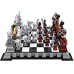 rakennuspalikoita shakkipeli koulutus-lelu shakki block minifigures lelut diy kids pieces