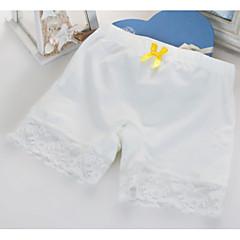 billige Undertøj og sokker til piger-Pige Undertøj Ensfarvet, Bomuld Alle årstider Simple Mikroelastisk Grøn Hvid Orange Lyserød