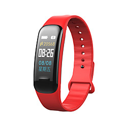tanie Inteligentne zegarki-C1 PLUS na iOS / Android Pulsometry / Pomiar ciśnienia krwi / Informacje / Obsługa aparatu / Kontrola APP Krokomierz / Powiadamianie o połączeniu telefonicznym / Rejestrator snu / siedzący / Budzik