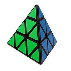 tanie Kostki Rubika-Kostka Rubika QI YI Pyraminx Gładka Prędkość Cube Magiczne kostki Puzzle Cube Naklejka gładka Trojůhelníkové Prezent Dla obu płci