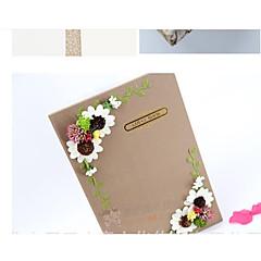 levne Knihy hostů a pera-Ostatní Pohádkový motiv RomantikaWithSaténové květiny Aplikace Výšivka Květiny Není k dispozici