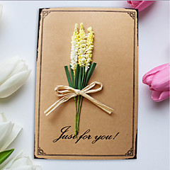 cheap Wedding Invitations-Side Fold Wedding Invitations 1pc-Mother's Day Cards Thank You Cards Baby Shower Cards Bridal Shower Cards Engagement Party Cards