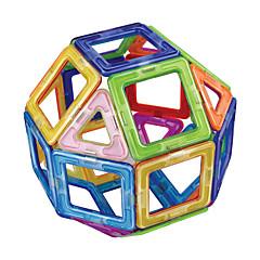 tanie Klocki magnetyczne-Blok magnetyczny Klocki 20pcs Zaokrąglanie Kwadrat Transformable Magnetyczne Ręcznie wykonane Tradycyjny Klasyczny styl Dla dziewczynek