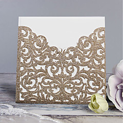cheap Wedding Invitations-Wrap & Pocket Wedding Invitations 30pcs - Invitation Cards Invitation Sample Mother's Day Cards Baby Shower Cards Bridal Shower Cards