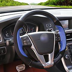 billige Rattovertrekk til bilen-bil ratt deksler (lær) for volvo alle år s60l s80l v40 v60 xc60