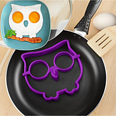 billige Eggeverktøy-1pc Kjøkkenredskaper Verktøy Silikon baking Tool Kreativ Kjøkken Gadget GDS Gjør Det Selv Støpeform Eggeverktøy for Egg
