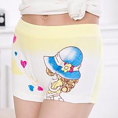 billige Undertøj og sokker til piger-2stk Pige Blomstret Bomuld Undertøj og strømper