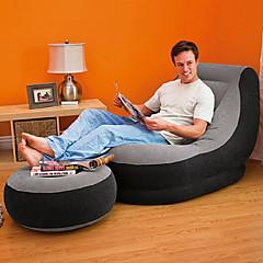 Χαμηλού Κόστους Υπνόσακοι και στρώματα κάμπινγκ-Intex Φουσκωτός καναπές / Στρώμα αέρα / Φουσκωτή καρέκλα Εξωτερική Φορητό / Γρήγορα φουσκωτά / Πτυσσόμενο Συρρέει / PVC μουσαμά Παραλία / Κατασκήνωση / Κατασκήνωση / Πεζοπορία / Εξερεύνηση Σπηλαίων