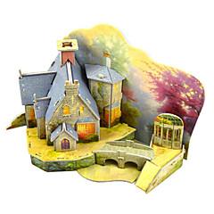 billige -Modellsett Arkitektur Foreldre-barninteraksjon Håndlavet utsøkt Myk Plastikk 1pcs Vintage Stil Romantikk Barne Voksne Gave