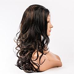 billiga Peruker och hårförlängning-Äkta hår Hel-spets Peruk Brasilianskt hår Kroppsvågor 130% Densitet Dam Äkta peruker med hätta
