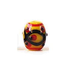 baratos Miçangas & Fabricação de Bijuterias-Jóias DIY 1 pçs Contas Esmalte Colorido Amarelo Vermelho Azul Real Cilindro Bead 0.2 cm faça você mesmo Colar Pulseiras