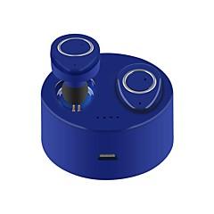 billiga Headsets och hörlurar-TWS-F1 I öra Trådlös Hörlurar Piezoelektricitet Plast Körning Hörlur Med laddningsbox / mikrofon headset