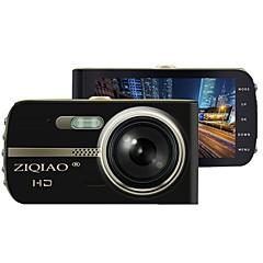 お買い得  車載DVR-ZIQIAO JL-430 720p / HD 1280 x 720 / 1080p 車のDVR 150度 広角の 3.8 インチ IPS ダッシュカム とともに ナイトビジョン / G-Sensor / 駐車モード 2 赤外線LED カーレコーダー / WDR