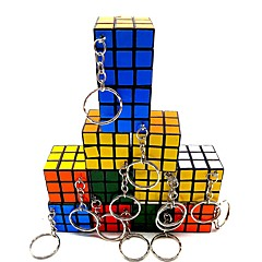 cheap -Magic Cube IQ Cube 3*3*3 Smooth Speed Cube Magic Cube Puzzle Cube Glossy With Keychain Kid's Adults' Toy Boys' Girls' Gift