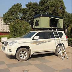 billige Telt og ly-Deerke 2 personer Enkelt camping Tent To Rom Automatisk Telt Vindtett Regn-sikker varmelagrende til Camping / Vandring / Grotte
