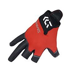 Χαμηλού Κόστους -Γάντια Ψαρέματος 1 pcs Χωρίς Δάχτυλα Προστασία από τον ήλιο UV Αναπνέει Αντιολισθητικό PU δέρμα Ίνα νάιλον Spandex Άνοιξη, Φθινόπωρο, Χειμώνας, Καλοκαίρι
