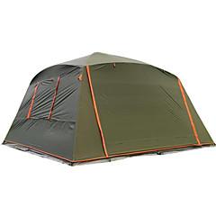 billige Telt og ly-5-7 personer Telt Enkelt camping Tent Utendørs Brette Telt Vanntett Vindtett Revner ikke Solbeskyttelse Solkrem til Camping &