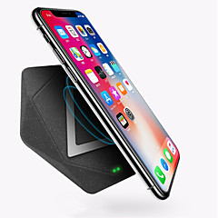 cheap Cell Phone Accessories-WAZA Wireless Charger Qi Certificated 10W Fast Charger, 50% Faster(7.5W) For iPhone 8, 8P, X, 10W Fast Charger For Samsung,LG,Nokia,Moto,etc