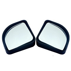 cheap Rear View Monitor-2pcs/lot car accessories small round mirror car rearview mirror blind spot wide-angle lens 360 degree rotation adjustable