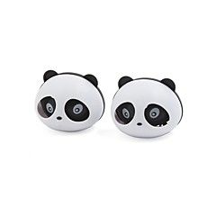 billiga Luftrenare till bilen-2 st pandaformad bil luftfräschare parfym w två clips