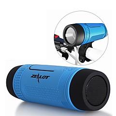 cheap -S1 Outdoor Bluetooth Speaker Mini Style Bluetooth Lights Bluetooth 4.0 Audio (3.5 mm) 1 x USB TF Card Slot Bookshelf Speaker Green Gray