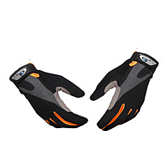 baratos Luvas de Motociclista-luvas de meio dia de roupa de andar exterior desgaste antiderrapante