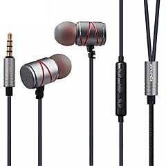 billiga Headsets och hörlurar-AWEI I öra Kabel Hörlurar Dynamisk Metallskal Sport & Fitness Hörlur headset