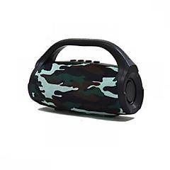 hesapli Hoparlörler-BS118-R Bluetooth Hoparlörü Bluetooth 4.2 Ses (3.5 mm) 1 x USB TF Kart Slotu Raf Tipi Hoparlör Kalın Ses (Bas) Hoparlörü Turuncu Kırmzı