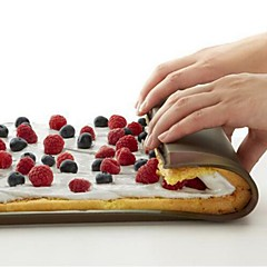 billige Bakeredskap-Bakeware verktøy silica Gel Non-Stick Brød / For Terte Rektangulær Cake Moulds 1pc