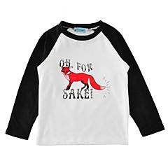billige Pigetoppe-Baby Unisex Dyr Bomuld T-shirt Sort 100