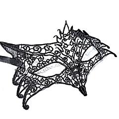 billige Originale moroleker-Haloween-masker Hage Tema Ferie Klassisk Tema Eventyr Tema Romantik Fantasi Mote Rev Familie Flettet Stoff Kunstnerisk / Retro كلاسيكي