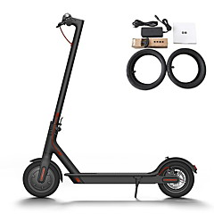 cheap Scooters, Skateboarding & Rollers-XiaoMi M365 Europe Version Anti-slip Electric Scooter Aluminium Alloy 500*110mm White / Black