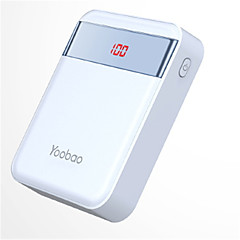 billige Eksterne batterier-10000 mAh Til Power Bank Eksternt batteri 5 V Til Til Batterilader QC 2.0 LED