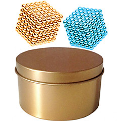 tanie Zabawki magnetyczne-Zabawki magnetyczne Kulki magnetyczne Magnesy ziem rzadkich 216*2pcs Magnetyczne Typ magnetyczny profesjonalnym poziomie DIY 3mm Cube