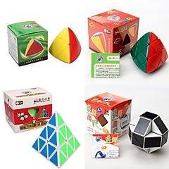 tanie Kostki Rubika-Kostka Rubika 4 szt Shengshou 7098A-4 7111A-1 7182A-1 7086A-1 Alien 3*3*3 2*3*3 Gładka Prędkość Cube Magiczne kostki Puzzle Cube