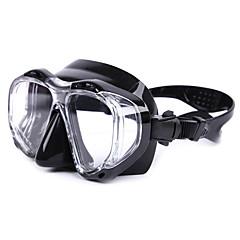 billiga Dykmasker, snorklar och simfötter-Snorkelmask / Simglasögon Vattentät, Reflexer, Skyddande Två Fönster - Simmning, Dykning Silikon, Glas - för Vuxen Gul / Fuchsia / Blå
