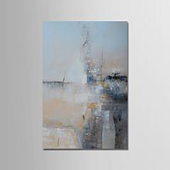 voordelige Muurkunst-Hang-geschilderd olieverfschilderij Handgeschilderde - Abstract Modern Inclusief Inner Frame / Uitgerekt canvas