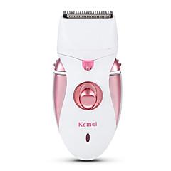 billige Barbering og hårfjerning-Kemei Epilator til Damer og Herrer 110-240 V Strømlys Indikator / Håndholdt design / Lett og praktisk