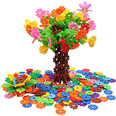 お買い得  組立ておもちゃ-脳のフレーク500ピース連動プラスチックディスクセットおもちゃの幾何学模様の贈り物