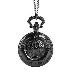 Pánské Pro páry Kapesní hodinky Křemenný Černá Hodinky na běžné nošení Cool  Analogové Vintage Na běžné nošení - Černá 9ed629dd9d