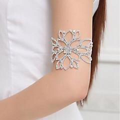 baratos Bijoux de Corps-Cadeia braço Flor Clássico, Fashion Mulheres Prata Bijuteria de Corpo Para Casamento / Noivado