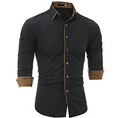 Herrn Solide - Geschäftlich Übergrössen Hemd