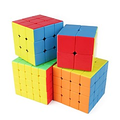 tanie Kostki Rubika-Kostka Rubika 1 PCS Shengshou D0934 Rainbow Cube 5*5*5 4*4*4 3*3*3 2*2*2 Gładka Prędkość Cube Magiczne kostki Puzzle Cube Błyszczące Moda