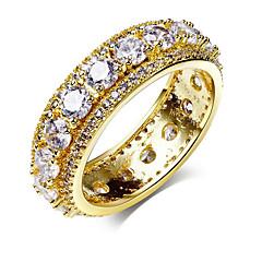 billige Motering-Dame Geometrisk Band Ring / Evigheten Ring - Zirkonium, Sølvplett, Gullbelagt Europeisk, Søt, Mote 6 / 7 / 8 Sølv / Gul Til Fest / Gave