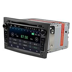 billiga DVD-spelare till bilen-Factory OEM 7 tum 2 Din Android 7.1 Inbyggd Bluetooth / GPS / RDS för Opel Stöd / Pekskärm / SD / USB-stöd / AVI / CD / VCD