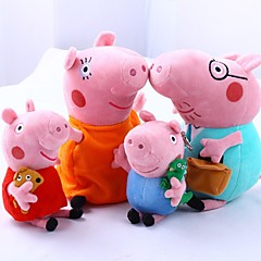 cheap Dolls, Playsets & Stuffed Animals-Pig Stuffed Animal Plush Toy Comfy Exquisite Animals Romance Lovely Gift 4pcs
