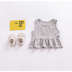 tanie Odzież dla dziewczynek-Brzdąc Dla dziewczynek Nadruk Bawełna Tanktop / koszulka na ramiączkach